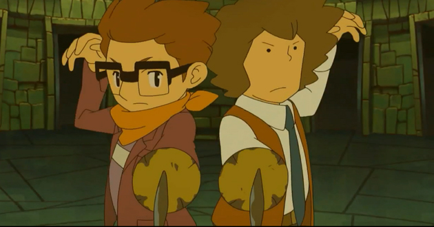 Layton Máscara Prodigios Hershell y Randall