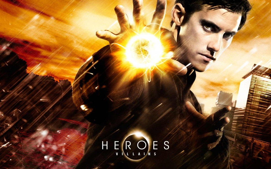 Como Peter Petrelli en Héroes