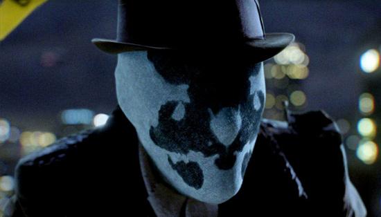 Watchmen Rorschach mascara