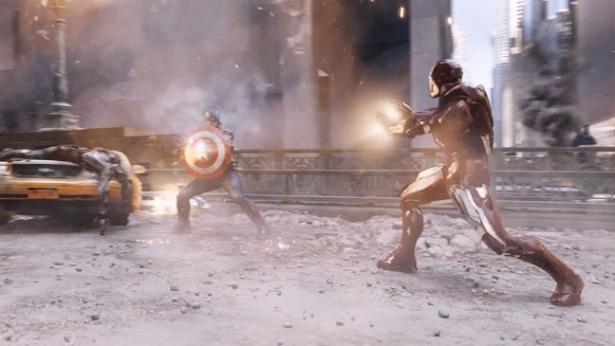 avengers fight scene