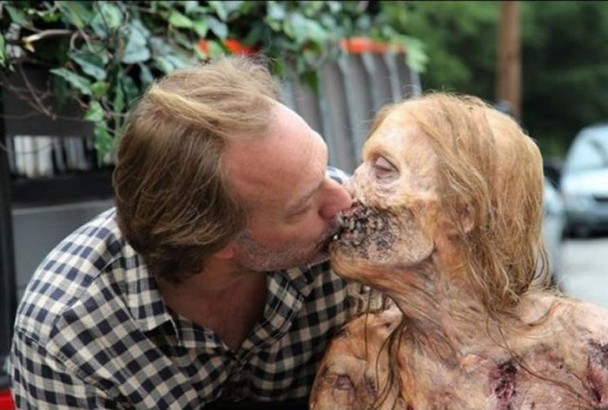 behind the scenes of the walking dead 1