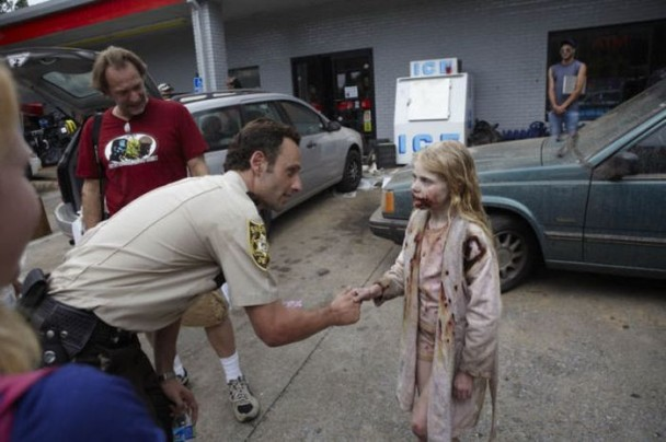 behind the scenes of the walking dead 15