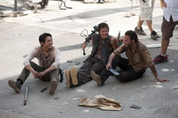 behind the scenes of the walking dead 2