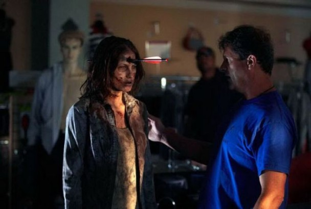 behind the scenes of the walking dead 24