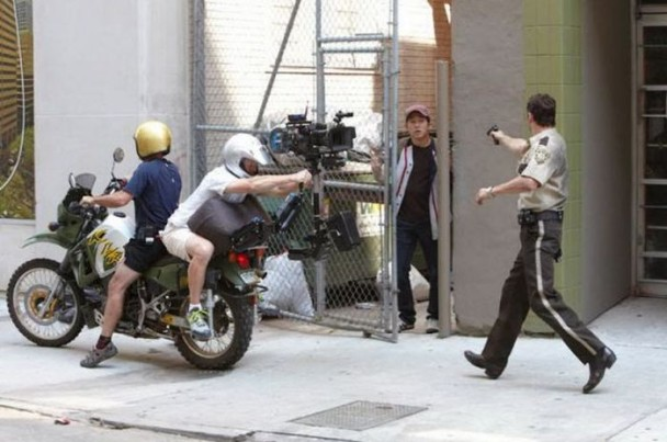 behind the scenes of the walking dead 26