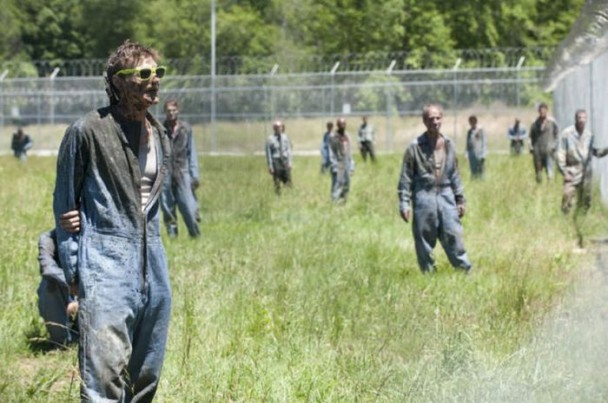 behind the scenes of the walking dead 3