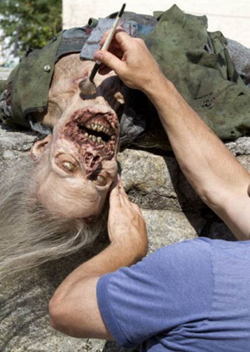 behind the scenes of the walking dead 33