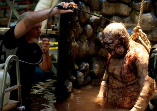 behind the scenes of the walking dead 34