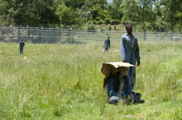 behind the scenes of the walking dead 4