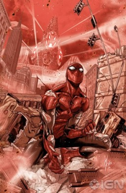 Portada de Superior Spider-Man en Age of Ultron