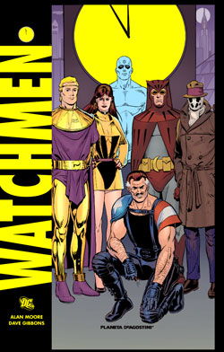 "Portada de ""Watchmen"""