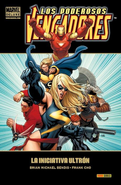 Portada de Poderosos Vengadores 1 - La Iniciativa Ultrón