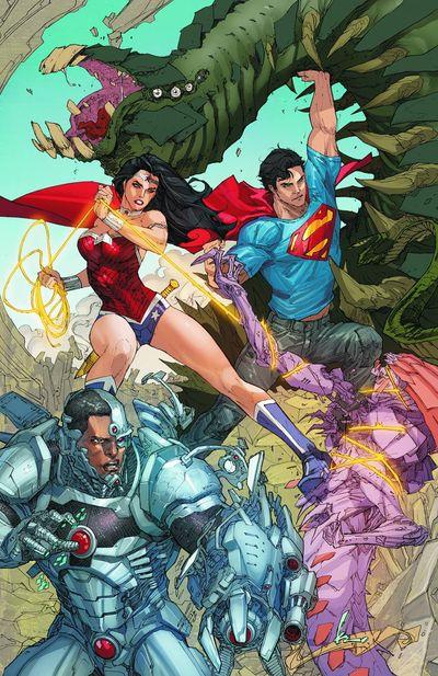 Portada de Superman #16