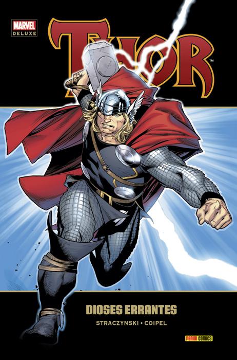 Portada de Marvel Deluxe: Thor 1 - Dioses Errantes