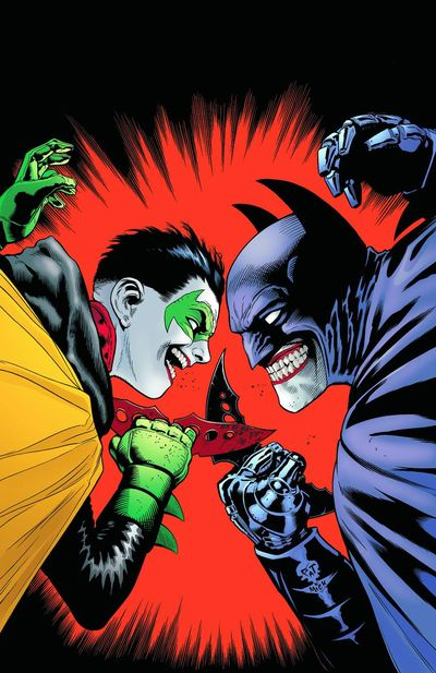 Portada de Batman and Robin #16