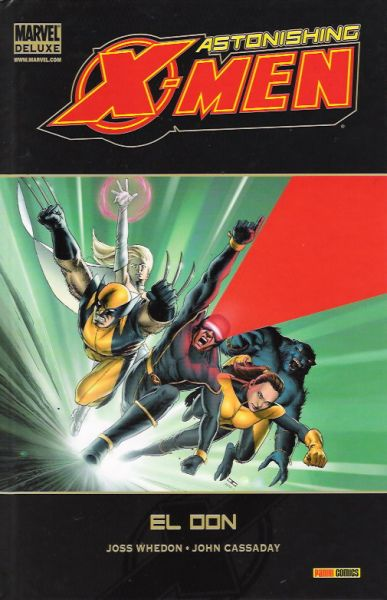 Portada de Astonishing X-Men - El Don