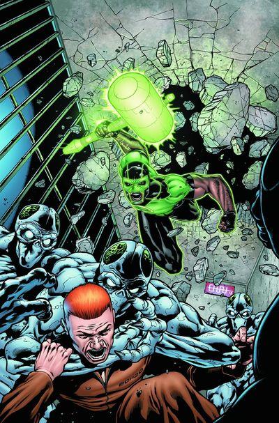 Portada de Green Lantern Corps #16