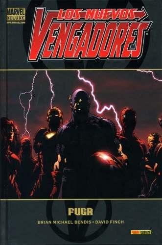Portada de Marvel Deluxe: Los Nuevos Vengadores 1 - Fuga