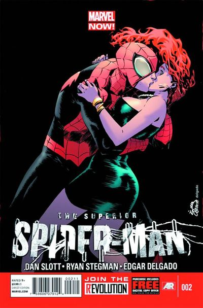 Portada de Superior Spider-Man #2