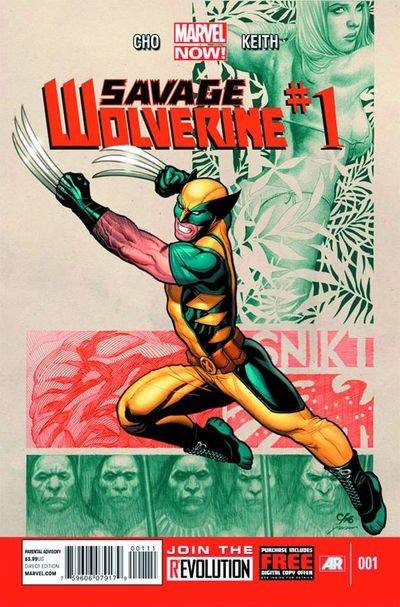 Portada de Savage Wolverine #1