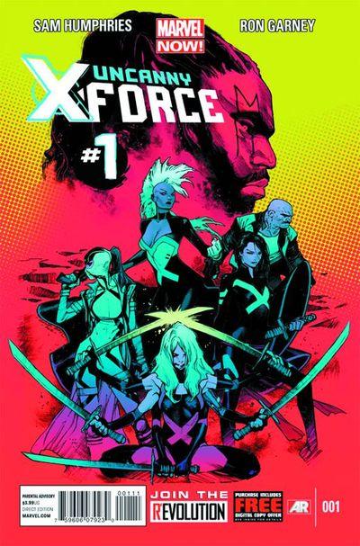 Portada de Uncanny X-Force #1