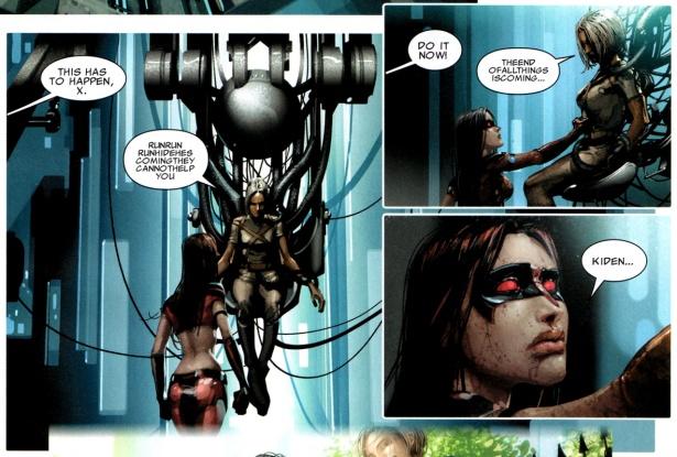 El triste reencuentro entre X-23 y Kiden Nixon