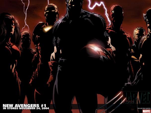 El plantel inicial de los Nuevos Vengadores