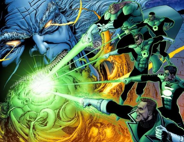 Green Lantern Geoff Johns 1 Renacimiento