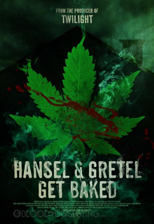 HANSEL & GRETEL GET BAKED POSTER