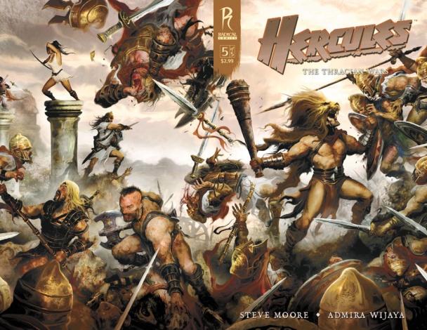Hercules The Thracian Wars película