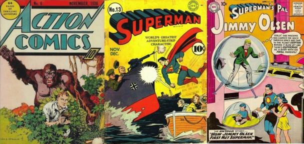 Jimmy Olsen en publicaciones de DC Comics