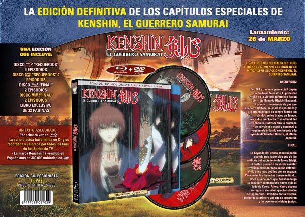 Preventa Marzo Kenshin