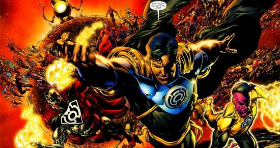 Sinestro Corps Superman Prime