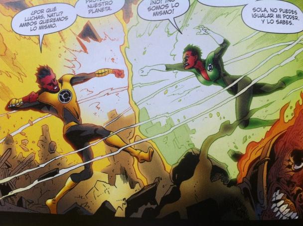 Soranik Natu Vs Sinestro