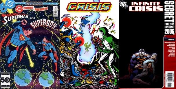 Superboy-Prime en publicaciones de DC Comics
