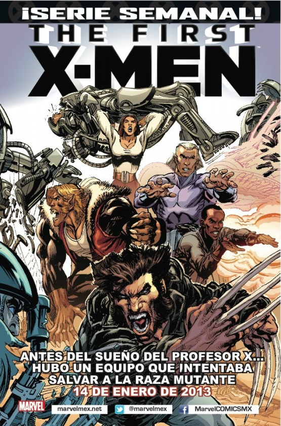 The First X-Men #1