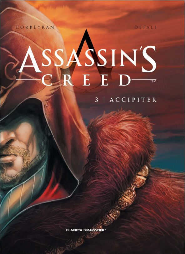 "Portada ""Assassin´s Creed 3: Accipiter"""