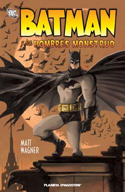 """Portada de """"Batman y los Hombres Monstruo"""""""