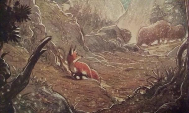 love zorro en el bosque