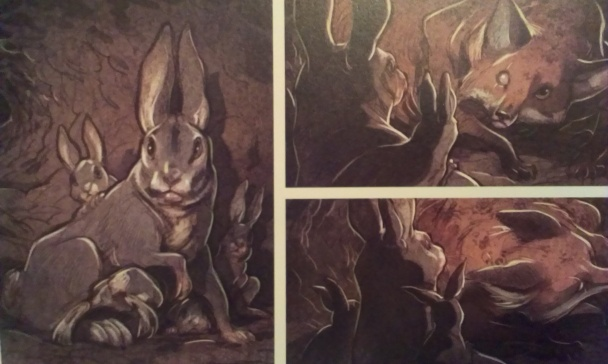 love-zorro-en-una-madriguera-de-conejos