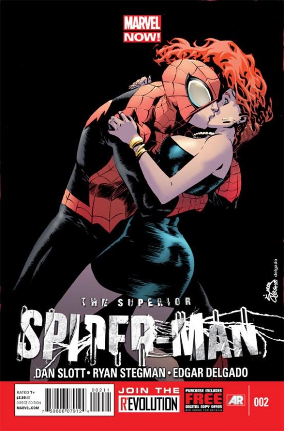 """Portada de """"The Superior Spider-Man"""" de Ryan Stegman"""