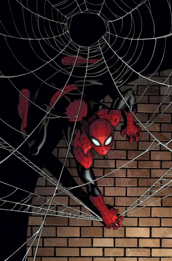 """Portada alternativa de """"The Superior Spider-Man"""" de Ed McGuiness"""