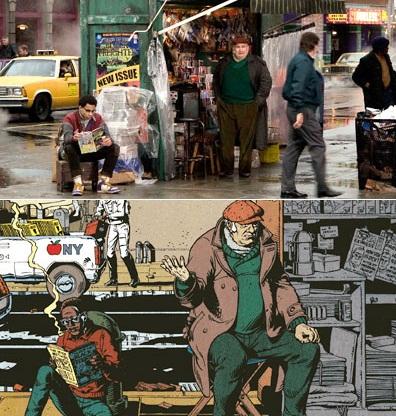 El nivel de detalle pasa por respetar la ropa incluso de personajes a los que se les ha recortado la historia en la adaptación