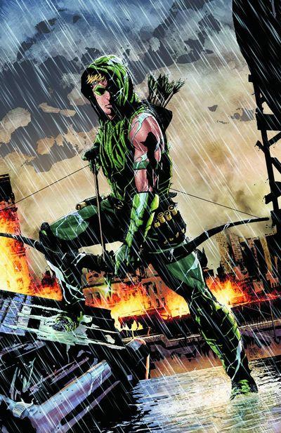 Portada de Green Arrow #17