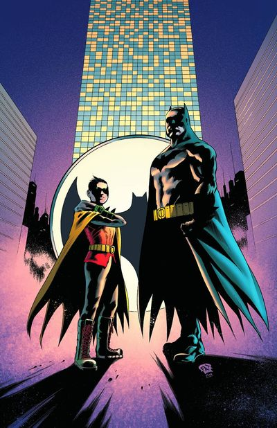 Portada de Batman And Robin #17