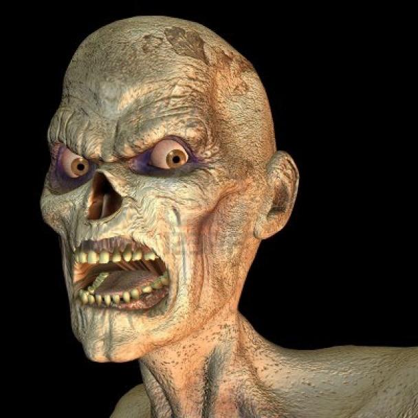 7930894 3d representar un zombie de retrato como ilustracion