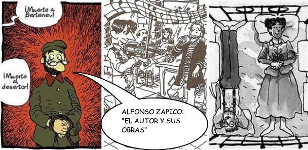 Especial: Alfonso Zapico, el autor y sus obras