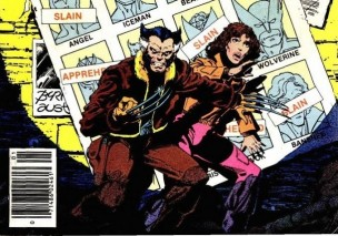 Kitty Pryde y Lobezno en la saga del cómic