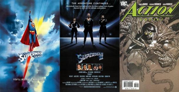 Non en películas y publicaciones de DC Comics
