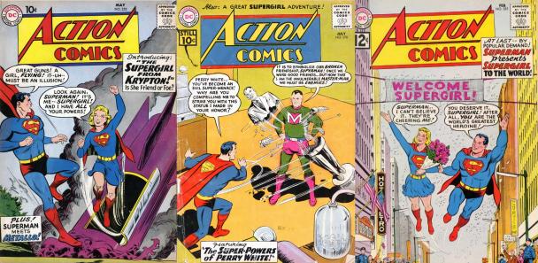 Supergirl en publicaciones de DC Comics